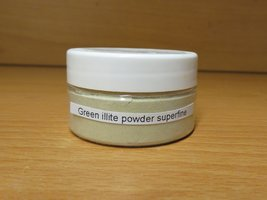 proefverpakking green illite powder 20ml