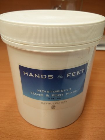 Mask Moisturising Hands & Feet Mask 550 ml